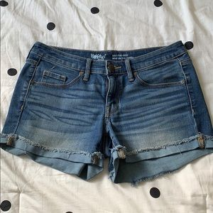 Target (Mossimo) Jean Shorts